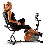 image of Marcy Start Me709 Recumbent Magnetic Exercise Bike