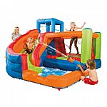 image of Plum Bouncer And Slide
