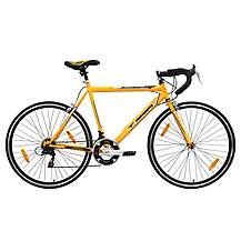 image of Tiger Pinnacle Mens 56cm 700c Road Bike Yellow