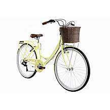 image of Kingston Dalston Ladies Traditional Bike - Yellow