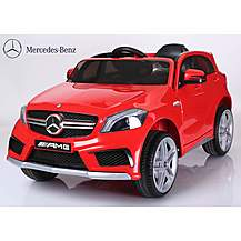 image of Licensed Mercedes A45 12v Kids Electric Ride On Car With Remote - Red