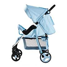 image of My Babiie Mb30 Baby Blue Stripes Pushchair