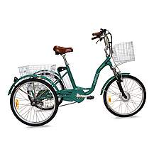 image of Jorvik Alloy Frame Electric Tricycle Green