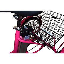 image of Jorvik Alloy Frame Electric Tricycle Pink