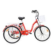 image of Jorvik Alloy Frame Electric Tricycle Red