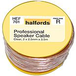 Halfords Professional Speaker Cable HEF701