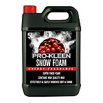 image of 5 Litre Pro-kleen Professional Cherry Snow Foam With Wax
