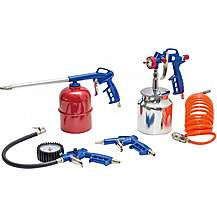 image of Autojack Air5p 5pc Air Compressor Tool Kit