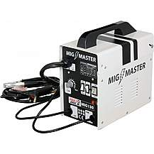 image of Autojack Mig130 Migmaster Mig Welder Gasless 130 Amp