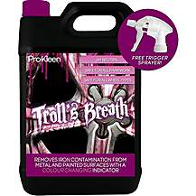 image of Pro-kleen Trolls Breath Ph Neutral Iron Contamination Fallout Remover 5 Litres