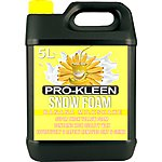image of Pro-kleen Professional Coloured Snow Foam With Wax 5 Litre - Banana Milkshake Fragrance