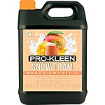 image of Pro-kleen Professional Coloured Snow Foam With Wax 5 Litre - Mango Smoothie Fragrance