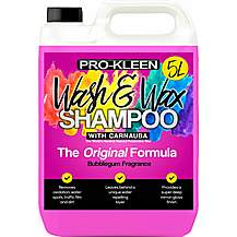 image of Pro-kleen Car Wash And Carnauba Wax Shampoo - Bubblegum