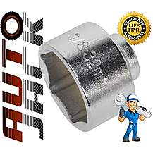 image of Autojack 32mm 3/8 Inch Drive Low Profile Oil Filter Socket 3/8 Garage Removal Tool