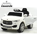 Licensed Maserati Levante 6v Kids Ride On Car With Remote Control - White