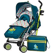 image of Obaby Stroller Bundle Monsters Inc.