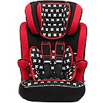 image of Obaby Group 1/2/3 Highback Booster Seat Crossfire