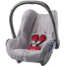 image of Maxi-Cosi CabrioFix Baby Car Seat Summer Cover - Grey