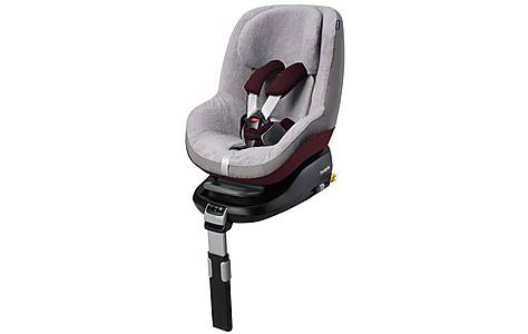 image of Maxi-Cosi Pearl Child Car Seat Summer Cover - Grey