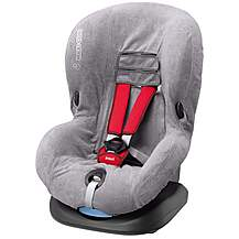 image of Maxi-Cosi Priori SPS Child Car Seat Summer Cover - Grey