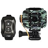 Waspcam Camo Action Camera With Wrist Remote