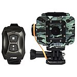 image of Waspcam Camo Action Camera With Wrist Remote