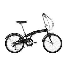 "image of Barracuda Apus 20""Folding Unisex Bike Black"