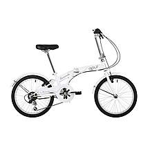 "image of Barracuda Apus 20"" Folding Unisex Bike White"
