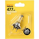 image of Halfords (HBU477) 55W H7 Car Bulb x 1