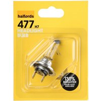Halfords 477 H7 Car Bulb x 1