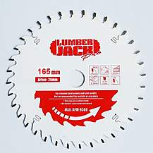 image of Lumberjack Ppsb16548 Tct 165mm Industrial Pro Circular Saw Blade 48t