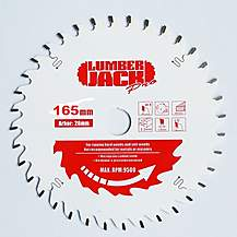 image of Lumberjack Ppsb16560 Tct 165mm Industrial Pro Circular Saw Blade 60t