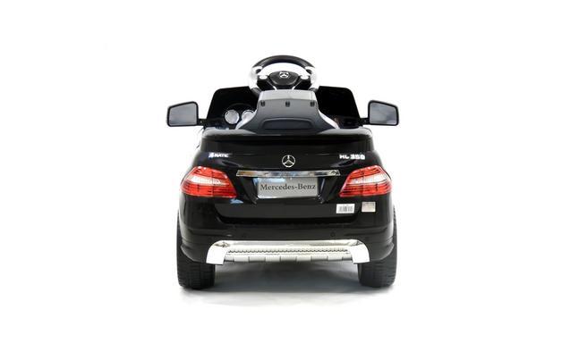 licensed mercedes ml350 6v electric ride on kids car with remote black