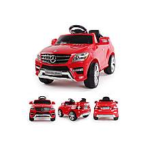 image of Licensed Mercedes Ml350 6v Ride On Car With Remote - Red