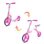 image of Aest 2-1 Kick Scooter Balance Bike For Kids Pink