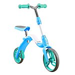 image of Aest 2-1 Kick Scooter Balance Bike For Kids Blue
