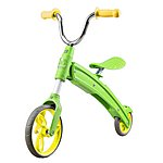 image of Aest Foldable Balance Bike For Kids Green