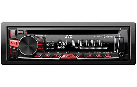 image of Ex-Display JVC KD-R861BT Car Stereo with Bluetooth
