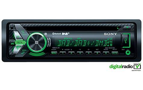 image of Sony MEX-N6001BD DAB Radio with CD/MP3 Player and Bluetooth