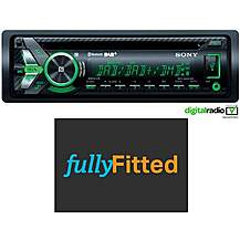 image of Sony MEX-N6001BD Car Stereo With Fitting Bundle