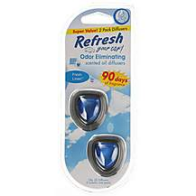 image of Refresh 2 Pack Fresh Linen Vent Clip