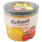 image of Refresh Gel Car Air Freshener Strawberry/Lemonade