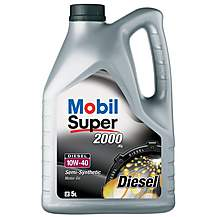 image of Mobil Super 2000 X1 10W40 Diesel Oil 5L