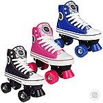 image of Pop Squad - Midtown Quad Roller Skates - Hot Pink (uk 2)