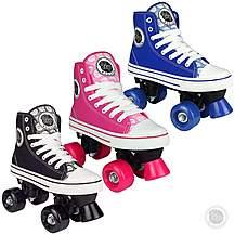 image of Pop Squad - Midtown Quad Roller Skates - Azure Blue (uk 2)