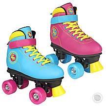 image of Pop Squad - Malibu Quad Roller Skates - Funky Pink (uk 1)