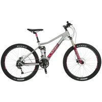"VooDoo Maji Womens Full Suspension Mountain Bike - 14"""