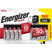 Energizer Ultra Plus AA Batteries 8 Pack