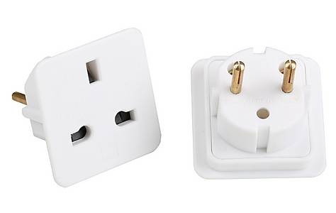 image of AA European Adaptors Twin Pack