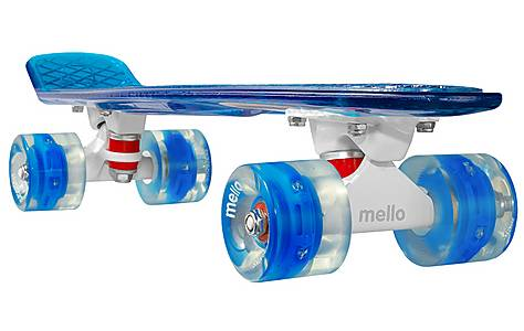"""image of Mello LED 22"""" Cruiser Skateboard - Blueberry"""